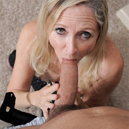 57 and sucking cock