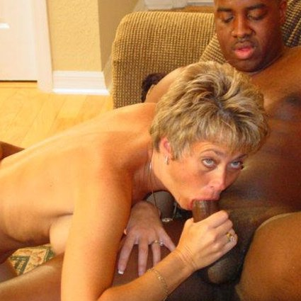 swinger wife sucks big black cock