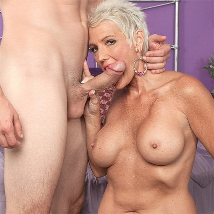 strings Mom goes anal through exploring new